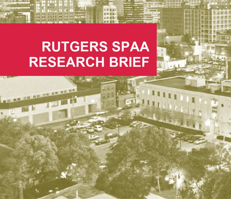 Rutegrs SPAA Research Brief